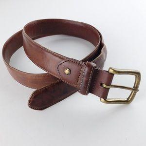 Vintage Coach Leather Belt 39in